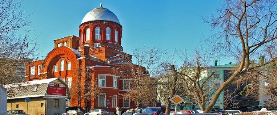 Храм Великомученика Георгия Победоносца в Грузинах г. Москва